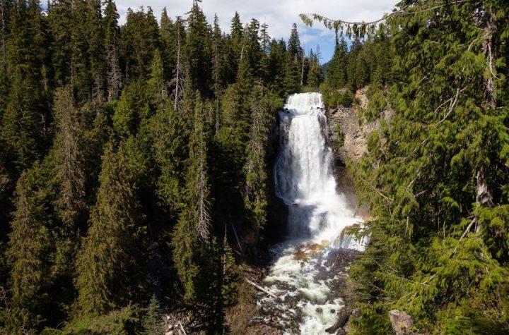 Vancouver beautiful waterfall